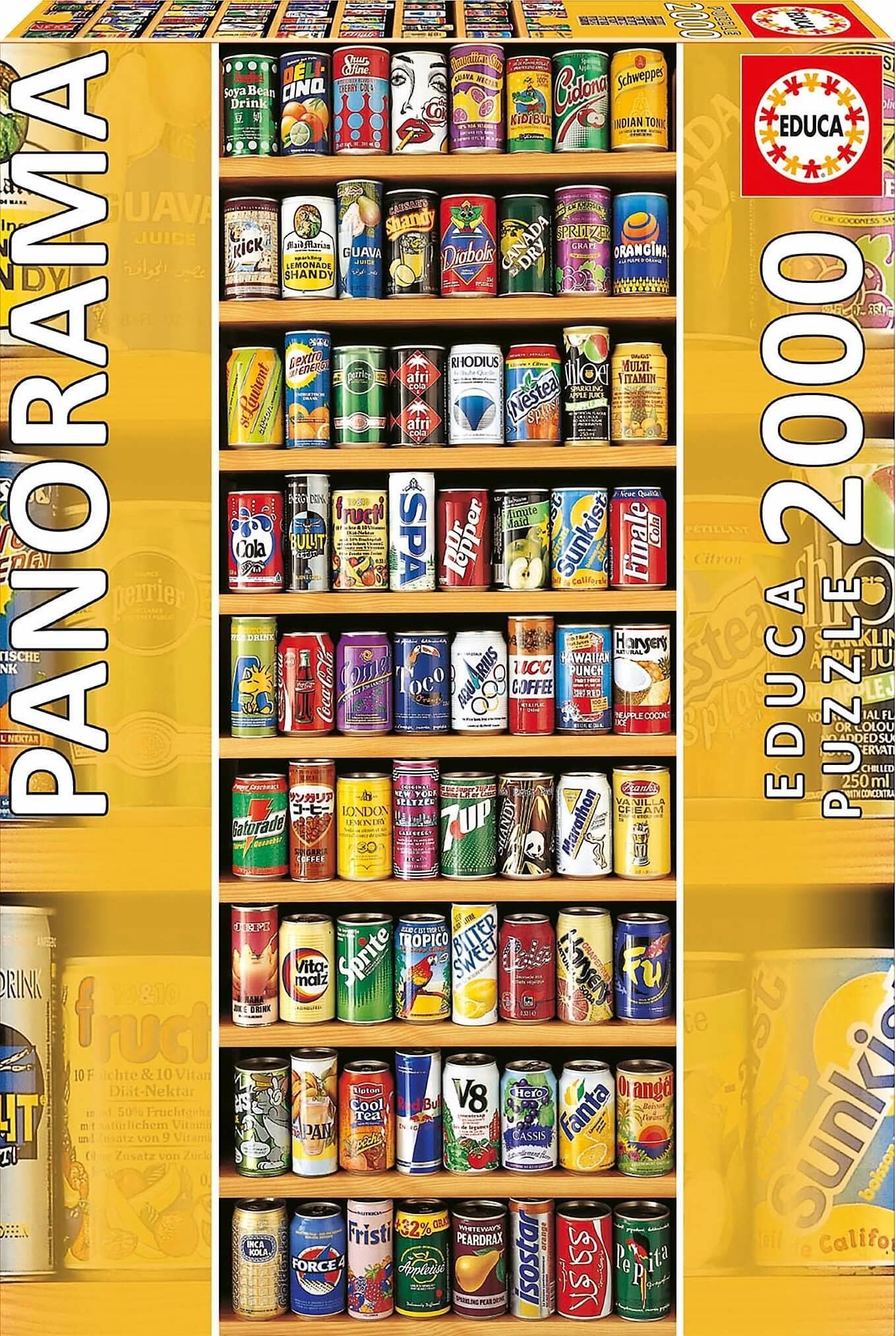 JOHN HANSEN COMPANY ED2000 SOFT DRINK CANS