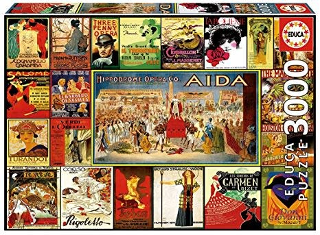 JOHN HANSEN COMPANY ED3000 COLLAGE OF OPERAS