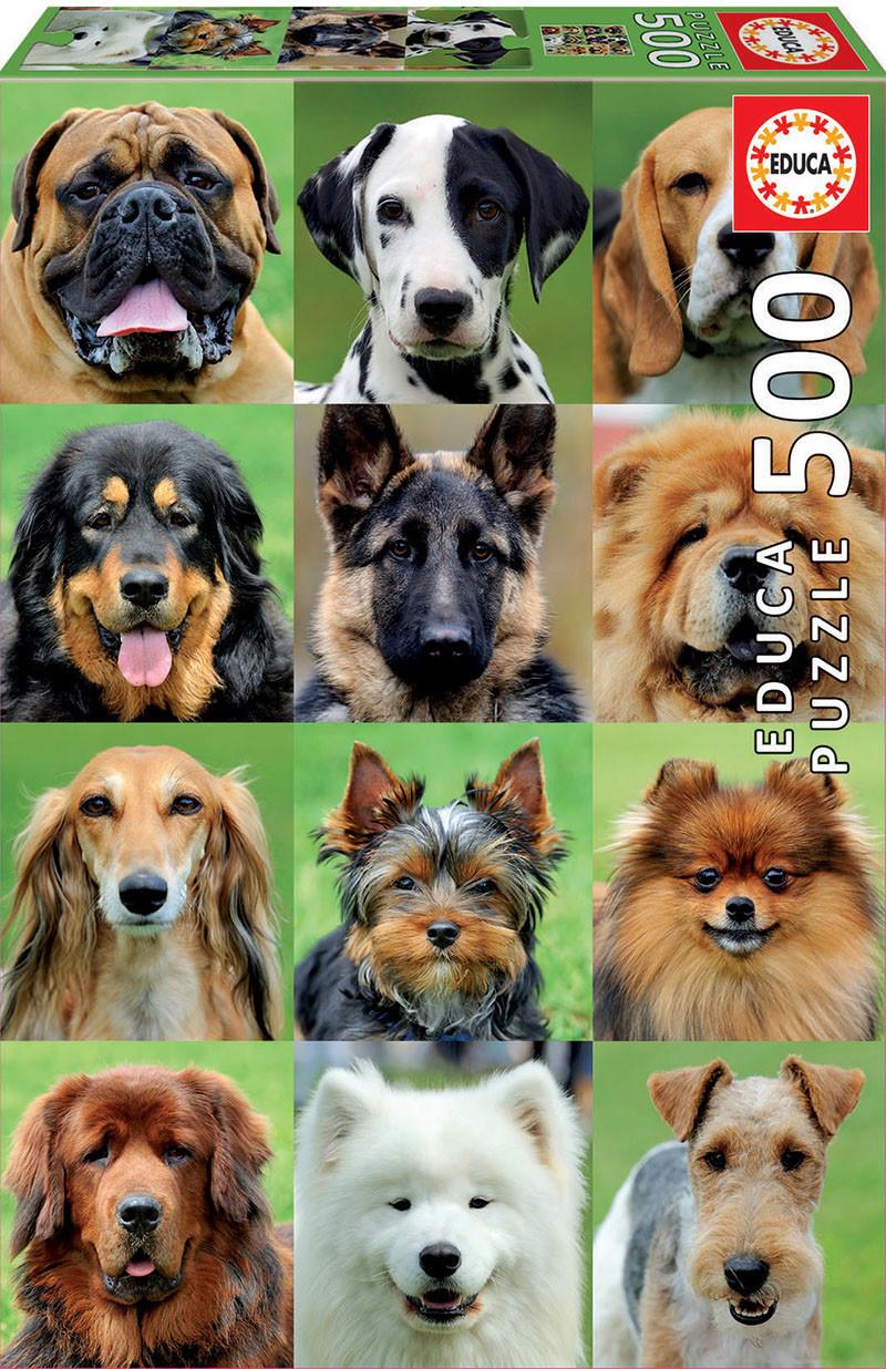 JOHN HANSEN COMPANY ED500 DOGS COLLAGE