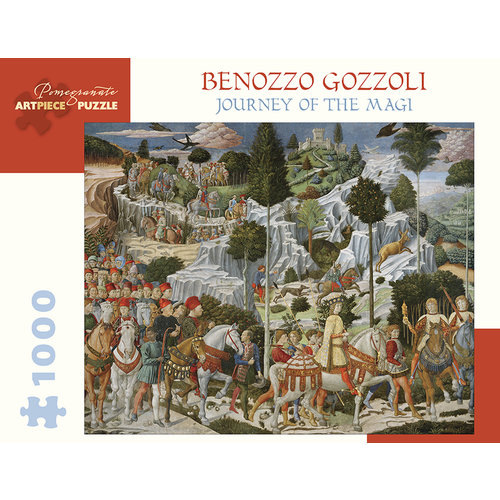 POMEGRANATE PM1000 GOZZOLI - JOURNEY OF THE MAGI