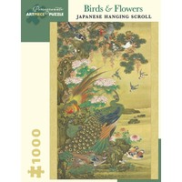 PM1000 BIRDS & FLOWERS: JAPANESE HANGING SCROLL