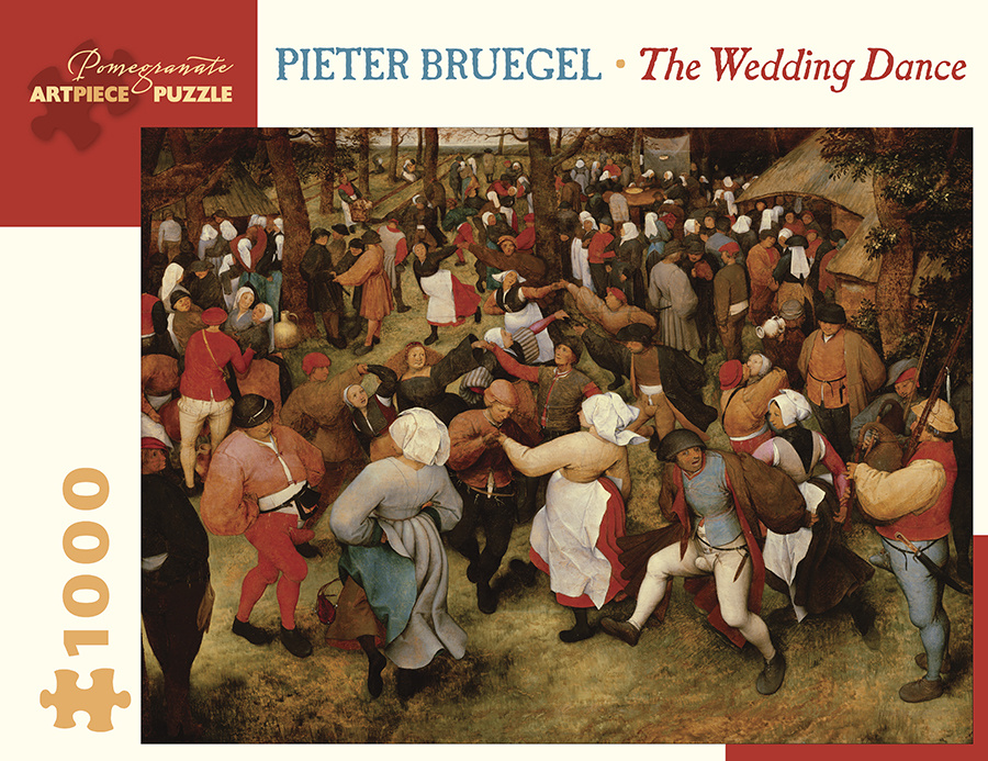 POMEGRANATE PM1000 BREUGHEL THE WEDDING DANCE