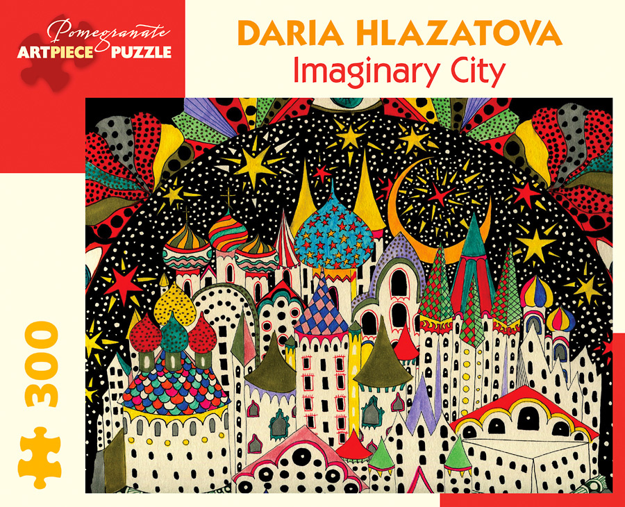 POMEGRANATE PM300 HLAZATOVA IMAGINARY CITY
