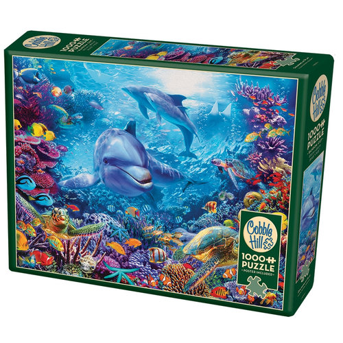 Cobble Hill CH1000 DOLPHINS AT PLAY