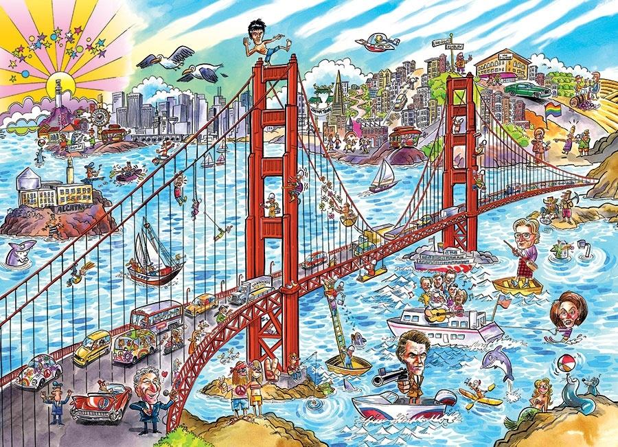 OUTSET MEDIA CH1000 DOODLE SAN FRANCISCO