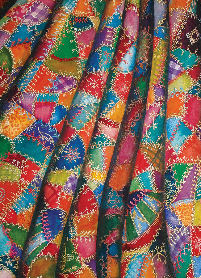 OUTSET MEDIA CH1000 CRAZY QUILT