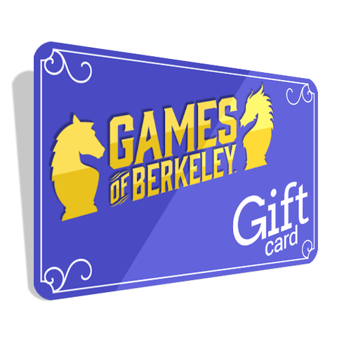 Games of Berkeley Gift Cards - For In Store Use