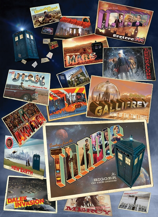 OUTSET MEDIA CH1000 DOCTOR WHO: POSTCARDS FROM THE EDGE OF SPACE & TIME