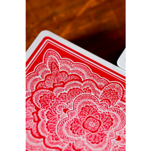 ART OF PLAY BLUE RIBBON, RED DECK PLAYING CARDS