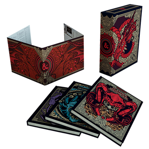 Wizards of the Coast D&D 5E: CORE RULES GIFT SET- LIMITED EDITION