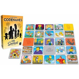 The Op | usaopoly CODENAMES SIMPSONS