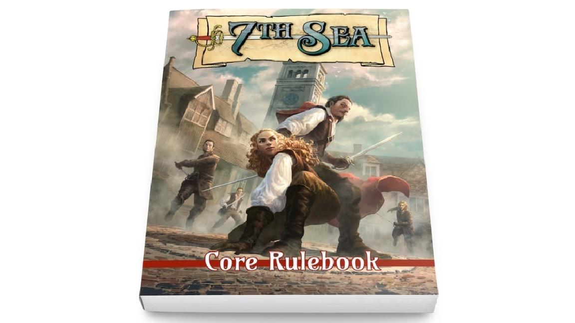 John Wick Presents 7TH SEA: 2ND EDITION CORE RULEBOOK