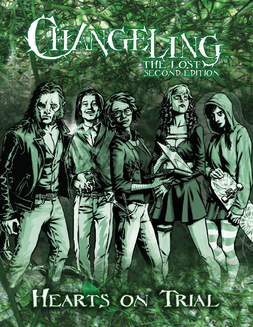 Onyx Path Publishing CHANGELING THE LOST 2E