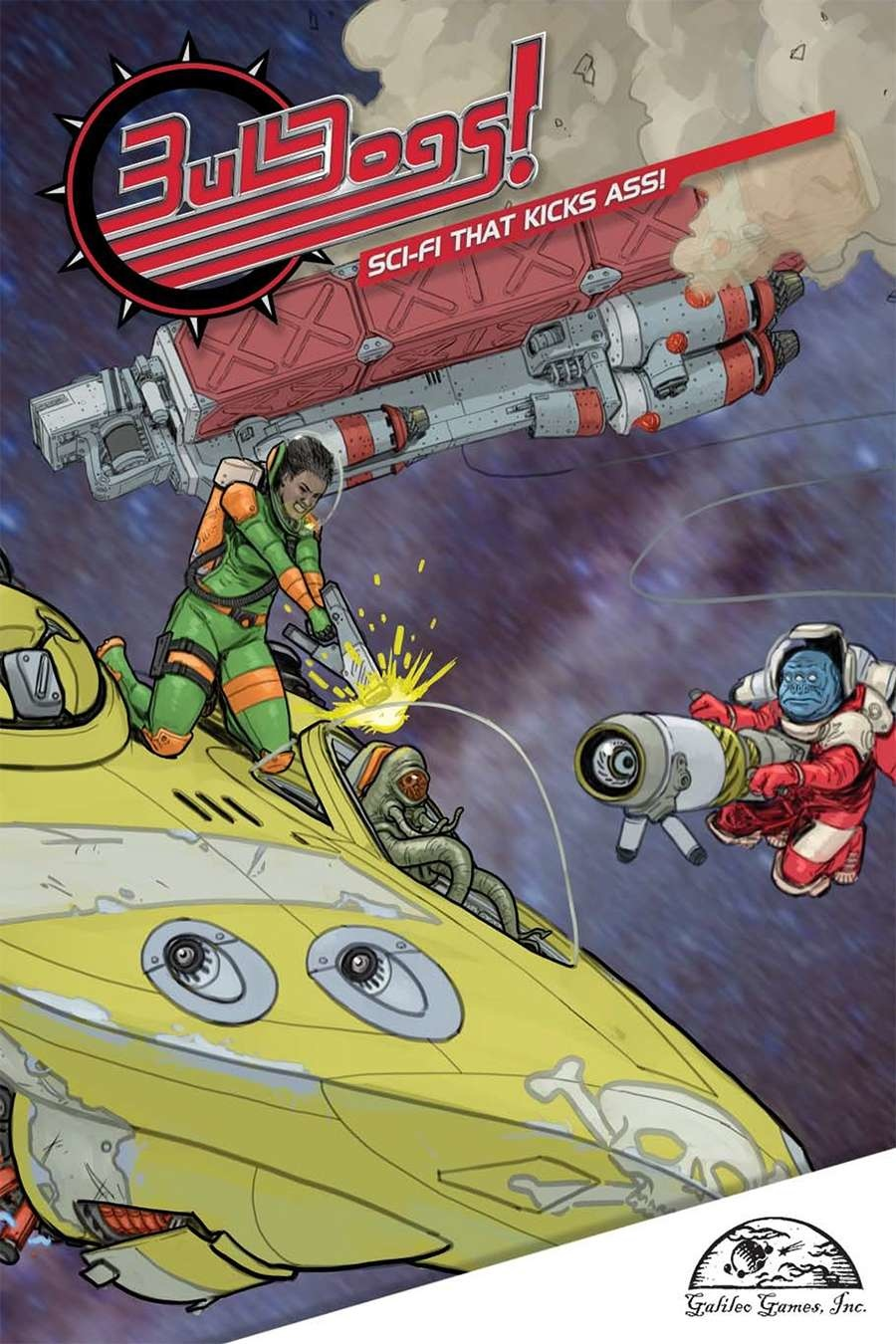 Galileo Games FATE CORE: BULLDOGS!