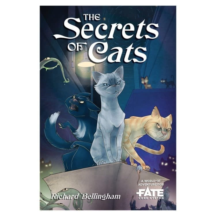 Evil Hat Productions FATE CORE: THE SECRETS OF CATS