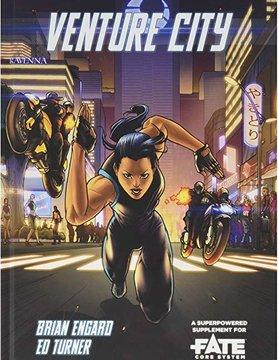 Evil Hat Productions FATE CORE: VENTURE CITY