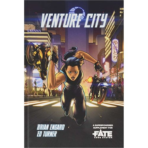 Evil Hat Productions FATE CORE: VENTURE CITY