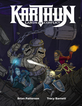 Evil Hat Productions KARTHUN: LANDS OF CONFLICT