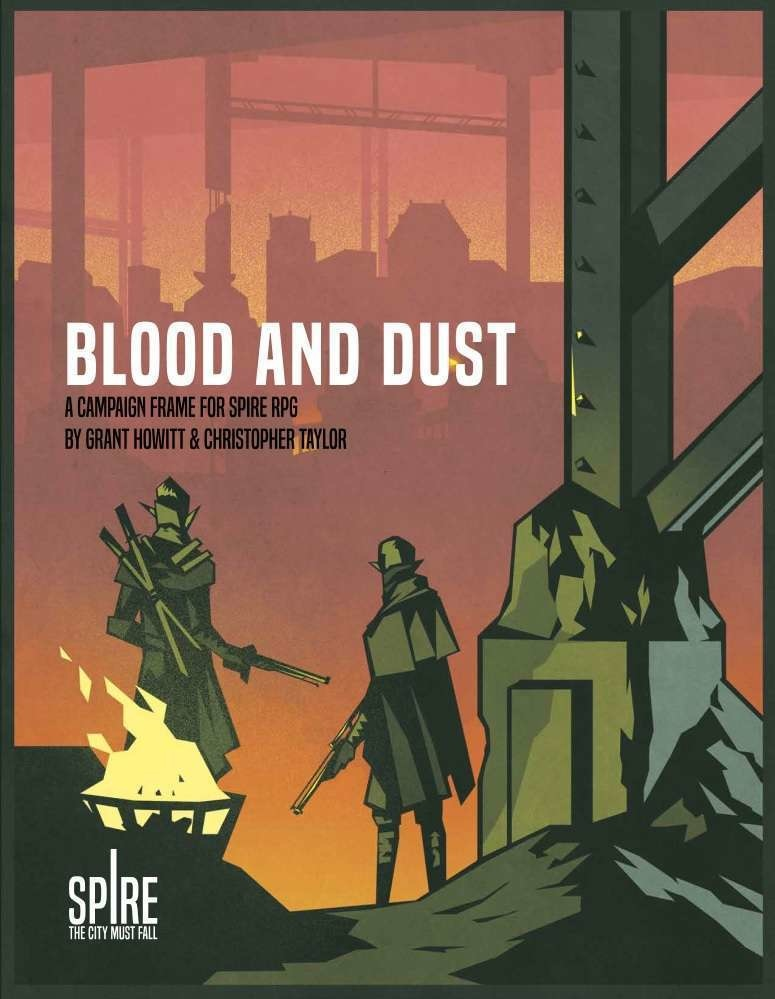 Rowan Rook and Decard SPIRE: BLOOD AND DUST