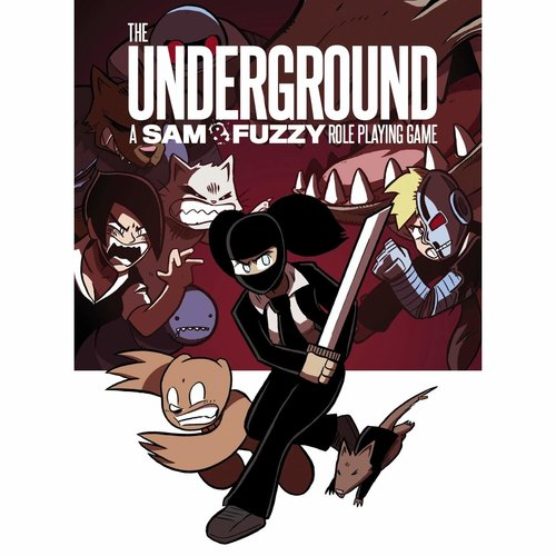 Mayfair Games THE UNDERGROUND: A SAM & FUZZY