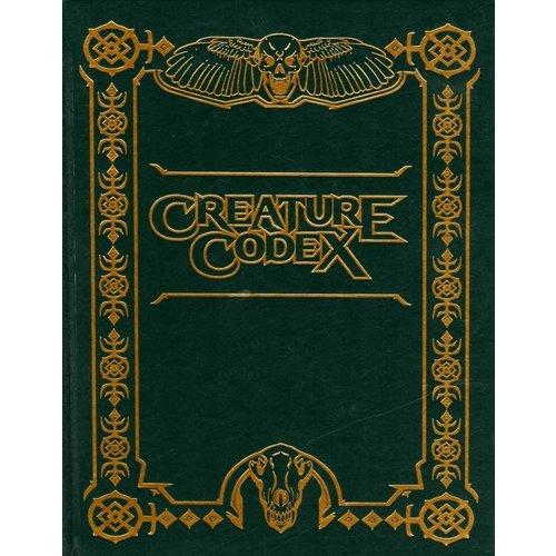 Kobold Press 5E: CREATURE CODEX LIMITED EDITION