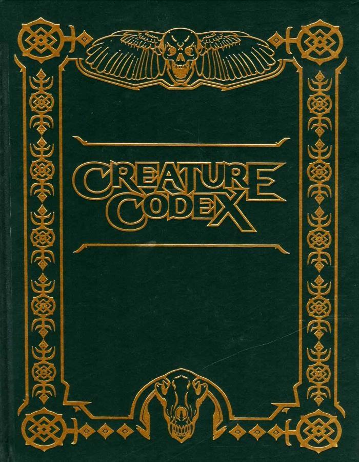 Kobold Press 5E: CREATURE CODEX LIMITED EDITION