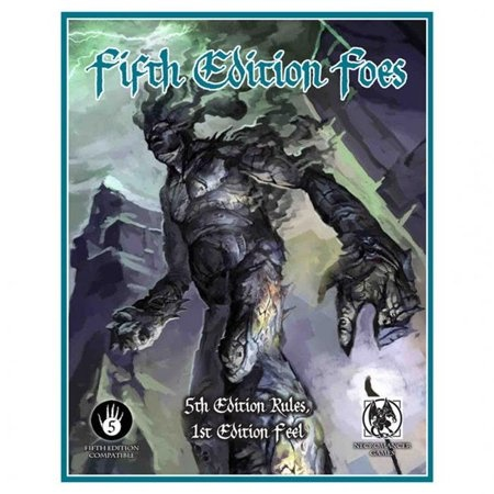 Frog God Games 5E: FIFTH EDITION FOES
