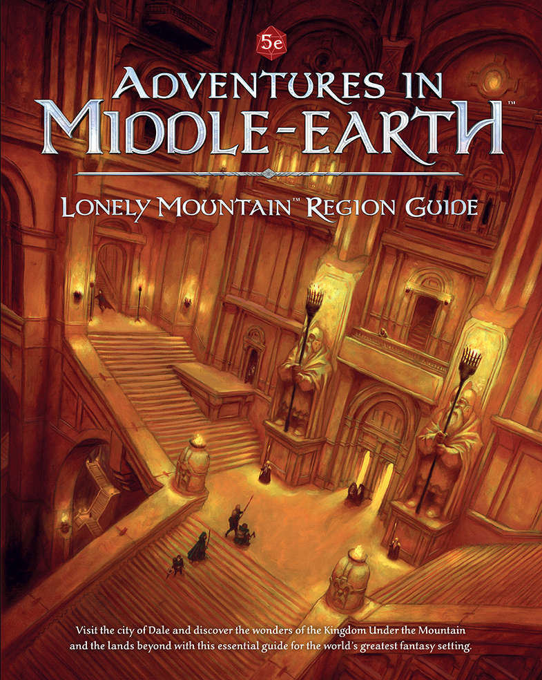 Cubicle 7 5E: MIDDLE EARTH LONELY MNT