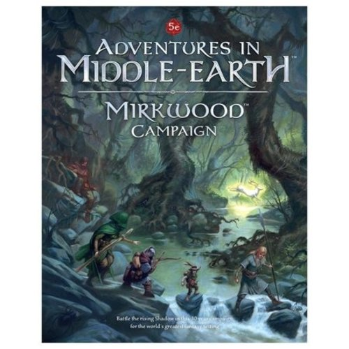 Cubicle 7 5E: MIDDLE EARTH MIRKWOOD CAMP