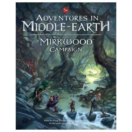 Cubicle 7 5E: MIDDLE EARTH MIRKWOOD CAMP