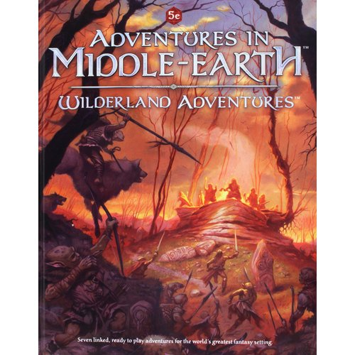 Cubicle 7 5E: MIDDLE EARTH WILDERLAND AD