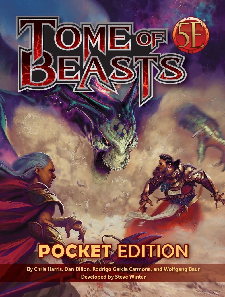 Kobold Press D&D 5E: TOME OF BEASTS POCKET EDITION
