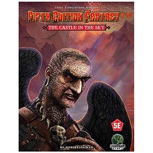 Goodman Games FIFTH EDITION FANTASY: #10 THE CASTLE IN THE SKY