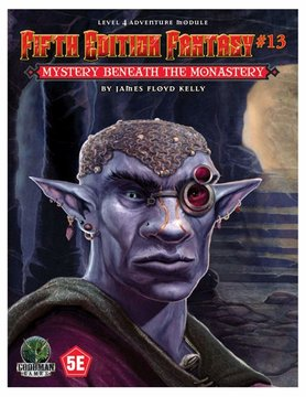 Goodman Games FIFTH EDITION FANTASY: #13 MYSTERY BENEATH THE MONASTERY