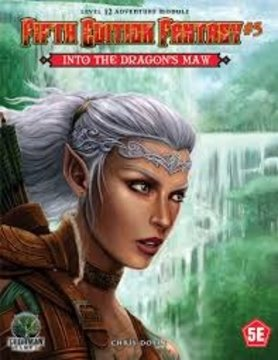 Goodman Games FIFTH EDITION FANTASY: #5 INTO THE DRAGON'S MAW