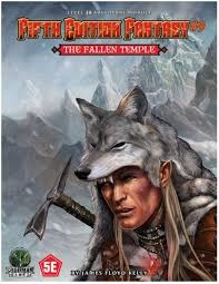 Goodman Games FIFTH EDITION FANTASY: #9 THE FALLEN TEMPLE