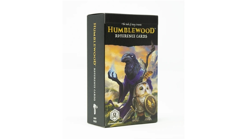 Hit Point Press HUMBLEWOOD: REFERENCE CARDS