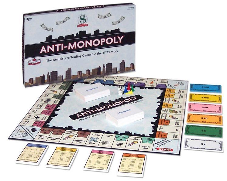 UNIVERSITY GAMES ANTI-MONOPOLY