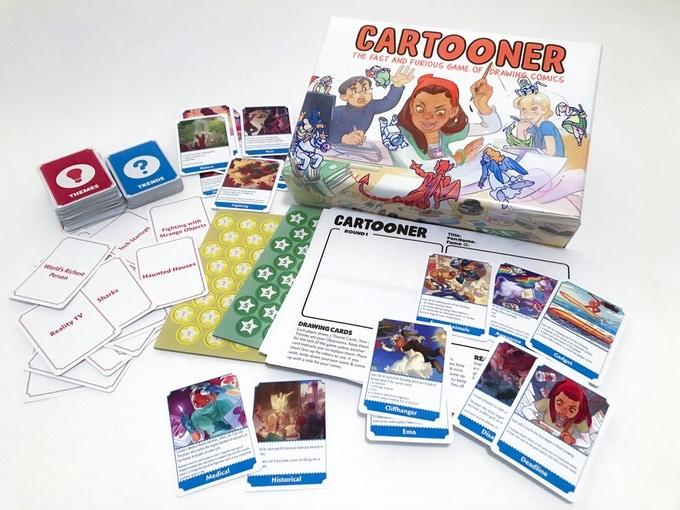 ADVENTURE GAME/ CARTOONER