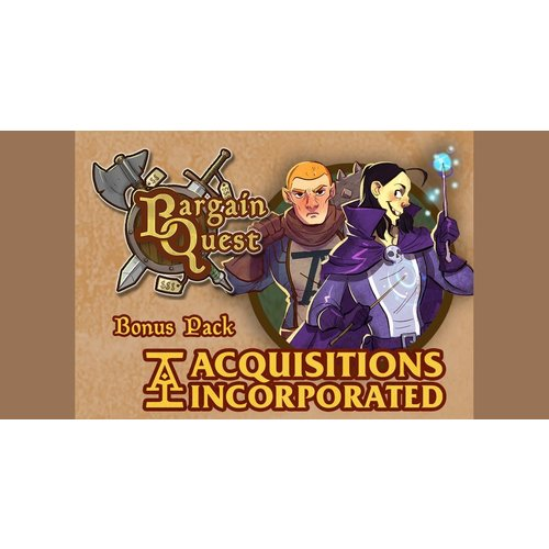 Renegade Games Studios BARGAIN QUEST: ACQUISITION INC