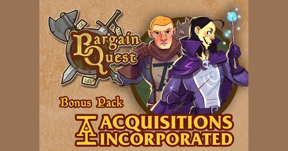 Renegade Games Studios BARGAIN QUEST: ACQUISITION INC