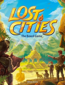 Thames & Kosmos LOST CITIES: BOARD GAME