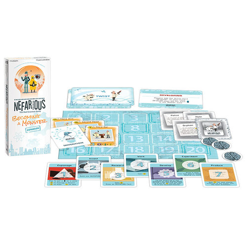 The Op | usaopoly NEFARIOUS EXPANSION