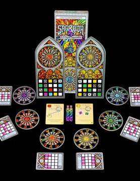 Floodgate Games SAGRADA: 5-6 PLAYER EXPANSION
