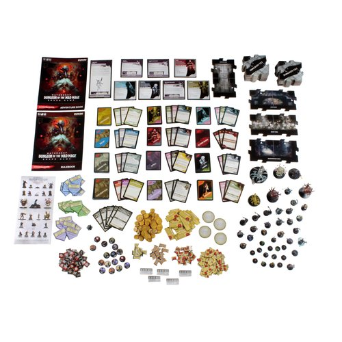 Wizkids D&D: DUNGEON OF THE MAD MAGE ADVENTURE SYSTEM