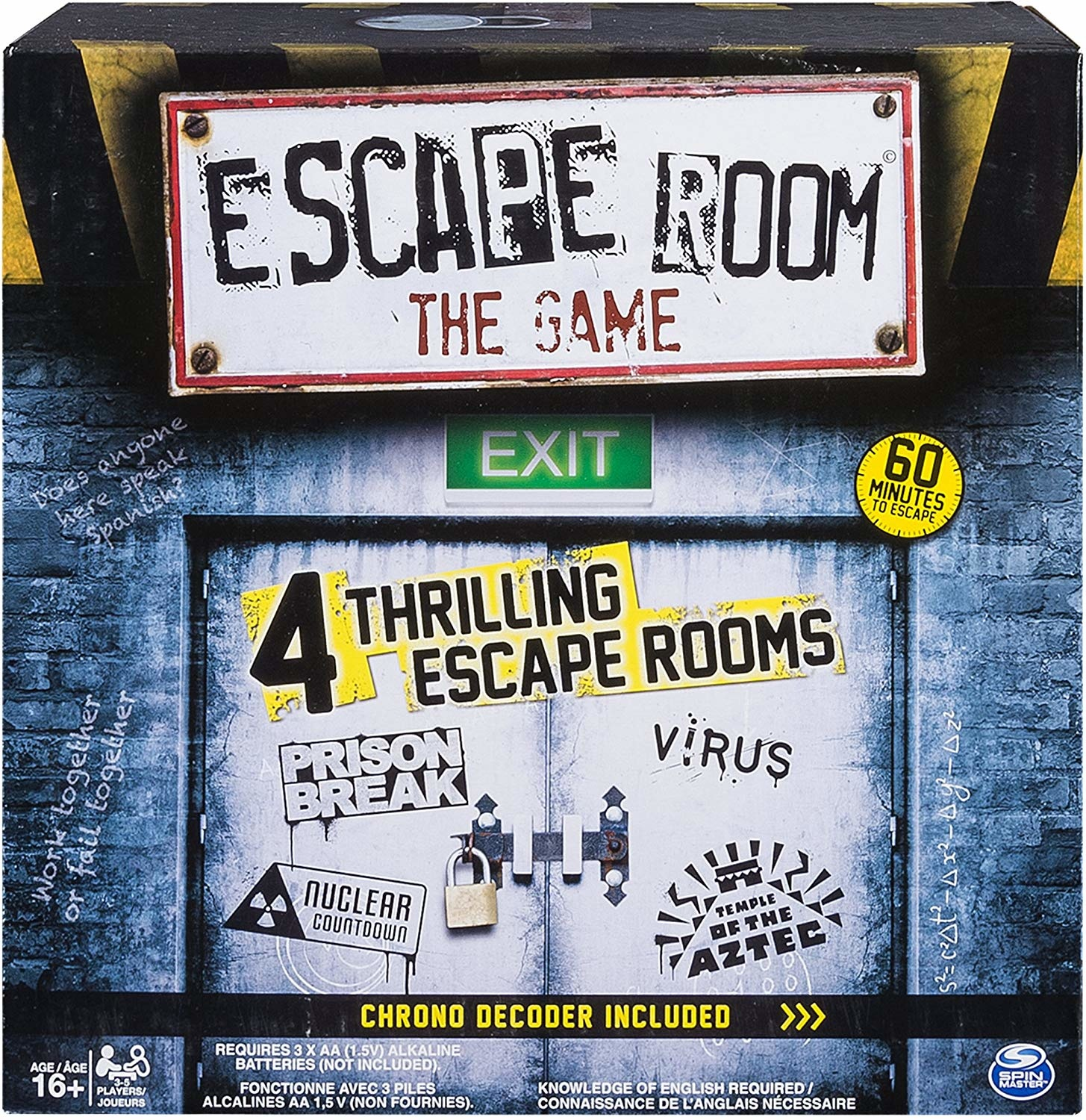 Spinmaster ESCAPE ROOM: THE GAME