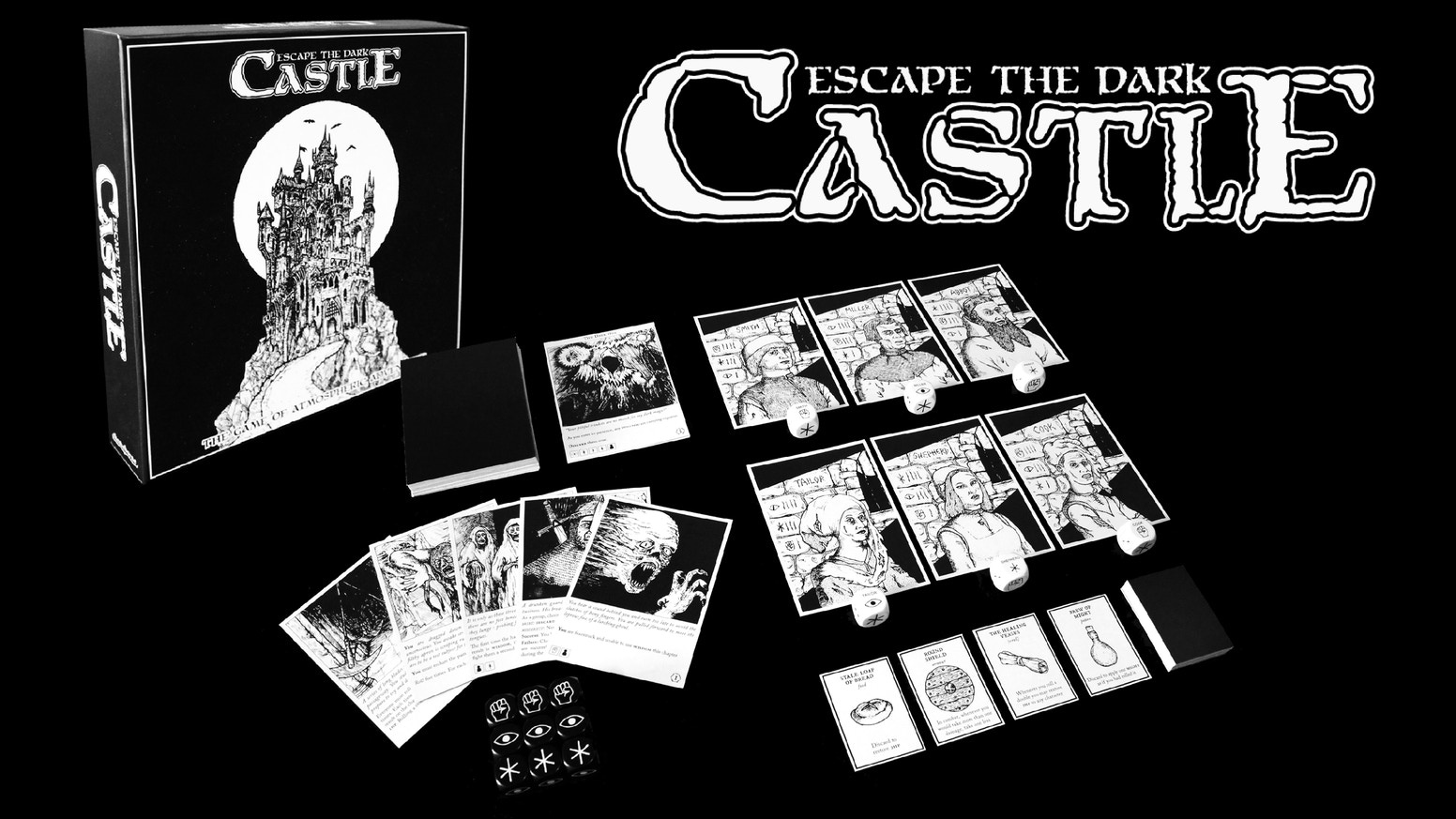 Asmodee ESCAPE THE DARK CASTLE: CULT