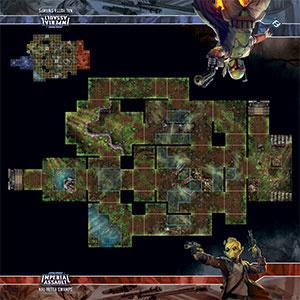 Fantasy Flight Games SW IA MAP NAL HUTTA