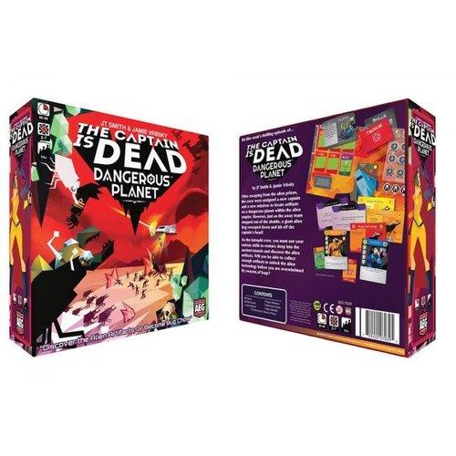 Alderac Entertainment Group THE CAPTAIN IS DEAD: DANGEROUS PLANET