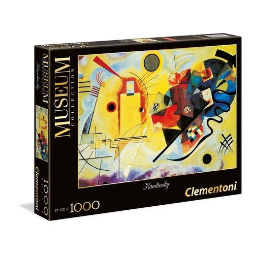 Clementoni CL1000 KANDINSKY - YELLOW-RED-BLUE